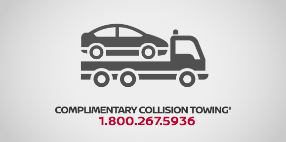 complimentary collision towing