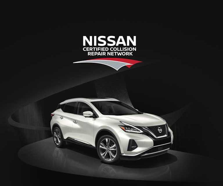 Certified Collision Repair Network - Nissan Canada Collision Repair Centres
