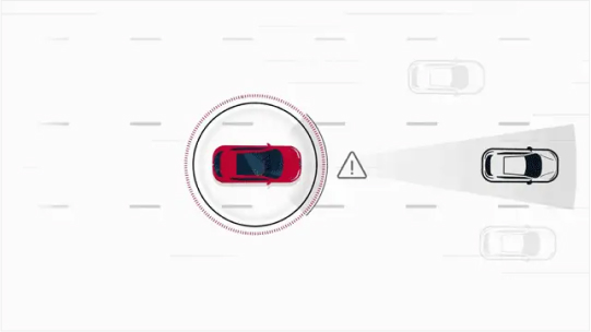 Intelligent Emergency Braking with Pedestrian Detection Image